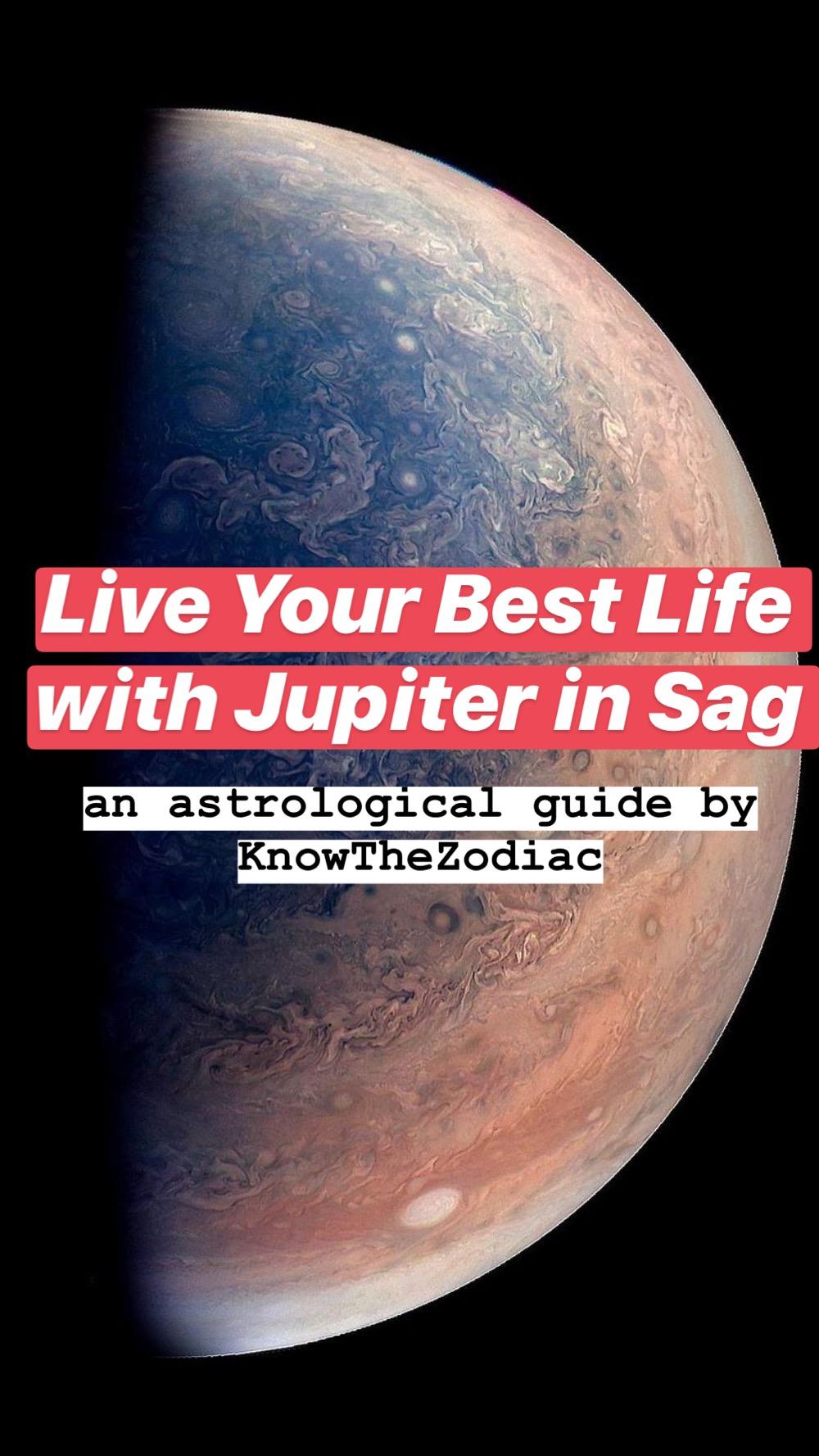 Live Your Best Life: Jupiter in Sag Forecast